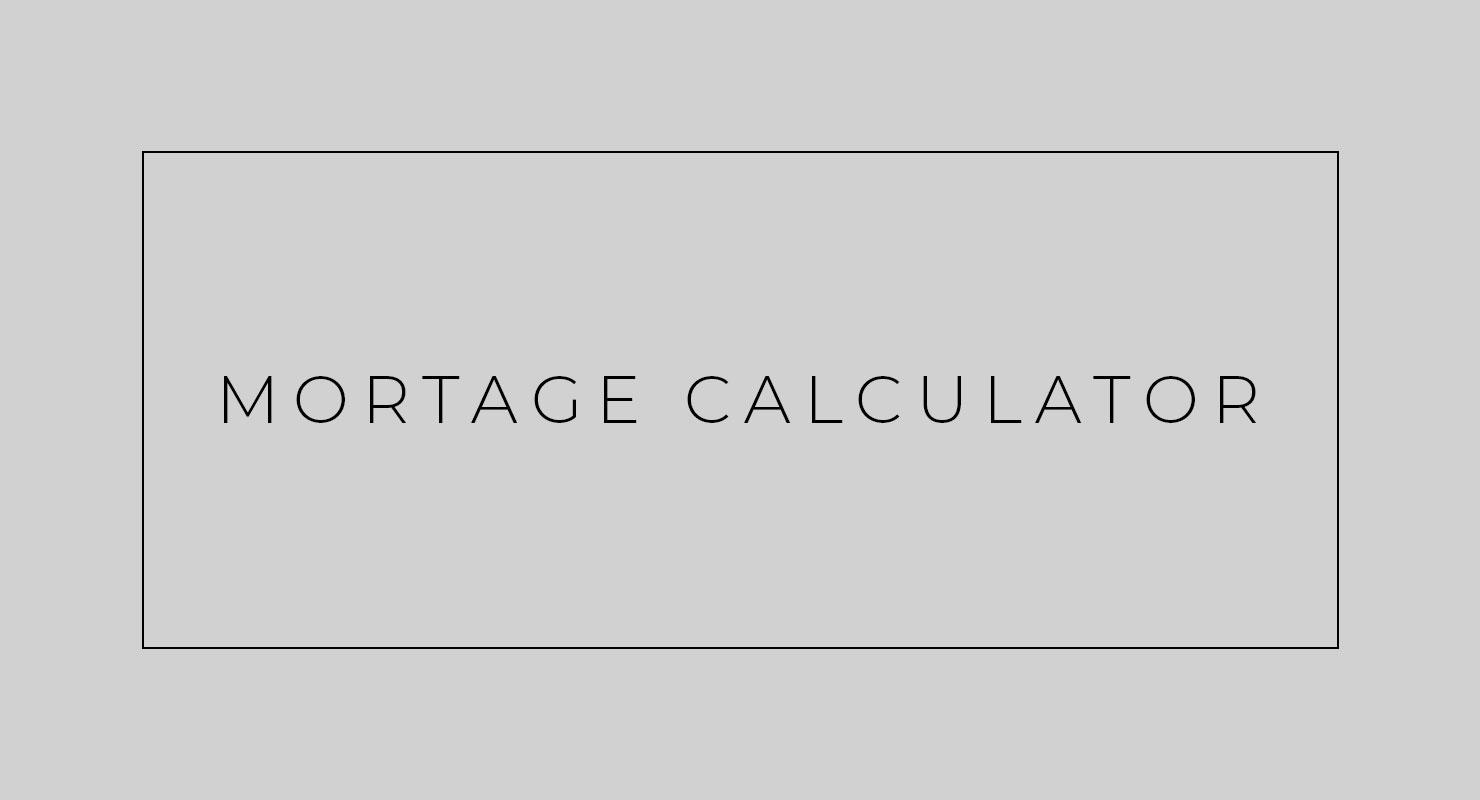 Free Market Mortgage Calculator